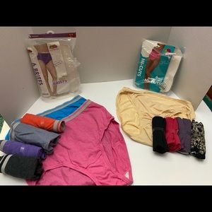 Brand new Woman's size 5 lot of 11 pairs underwear